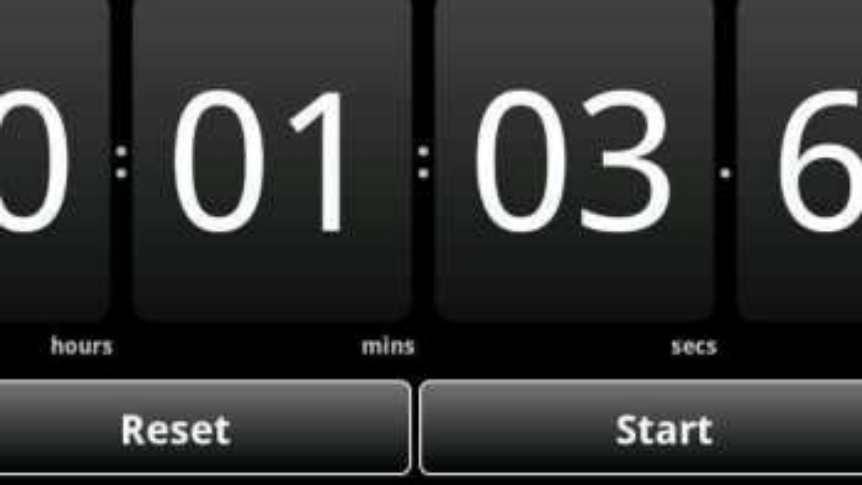 Cronometro Medir Tiempos